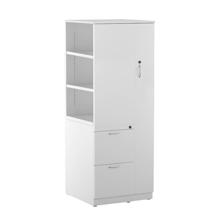 Bookcase Wardrobe Office Storage Tower