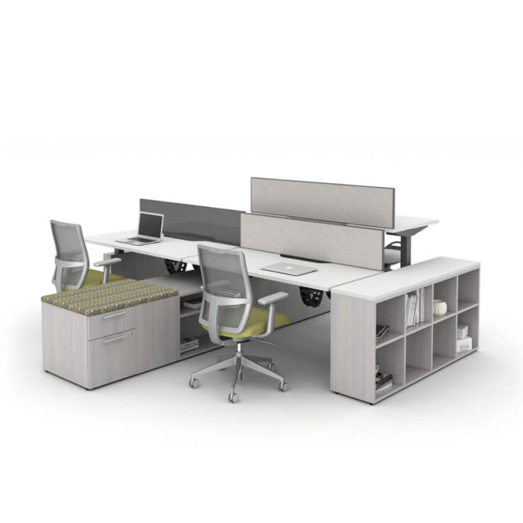 RISE Adjustable Desking